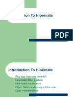Introduction to Hibernate