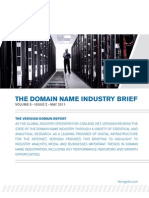 The Domain Name Industry Brief (May 2011)