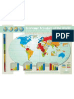 Economic Freedom of the World MAP