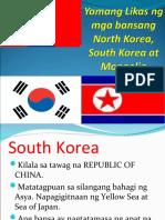 Yamang Likas Ng Mga Bansang North Korea,