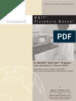 Mgit Manual Nov 2007[1]