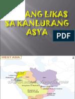 Yamang Likas Sa Kanlurang Asya