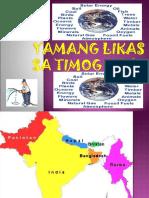 Yamang Likas Sa Timog Asya