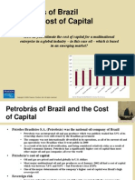 Petrobras Cost of Capital