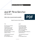 Diario de un poeta desposeído/Diary of a dispossessed Poet