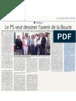 Courrier Des Yvelines - Article retour Conf de Presse sur Le SCOT