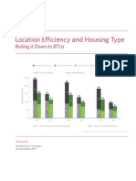 Location Efficiency and Housing Type - Boiling It Down to BTUs