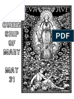 5.31 Queenship of Mary