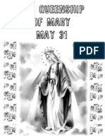 5.31 Queenship of Mary 2