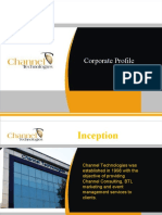 Channel Technologies Corporate Presentation