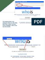 Utilizar o Whois