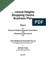 Business Plan - Shopping