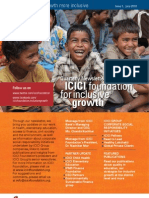 ICICI Newsletter Financial Inclusion