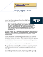 Fundamentals of Metallic Corrosion in Fresh Water
