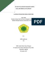 Laporan Prakerin SMK Analis Kimia Tunas Harapan - Zeffa Aprilasani