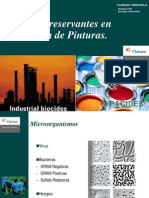 Sistemas Preservantes en La Industria de Pinturas