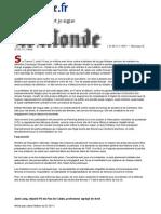Le Monde DSK Jack Lang Je Persiste Et Je Signe