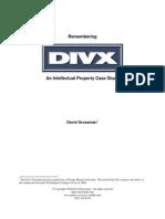 Divx Ip Case Study