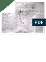 Carta Topografica Marzabotto Operazioni Militari