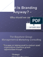 What is Branding Anyway