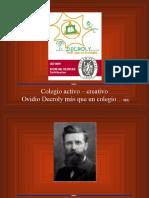 Biografia de Ovidio Decroly