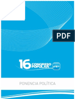 PONENCIA POLITICA PP xvi congreso