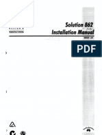 Solution 862 Installation Manual