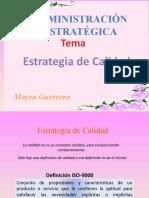 Expo Sic Ion de Estrategia de Calidad