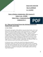SMU MBA-4 2011 ASSIGNMENT MU0006-SET2