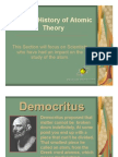 History of Atomic Theory Power Point
