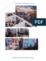 Job Fair at Jadavpur University