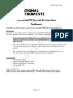 Clad Sample Exam1