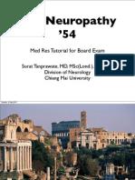The Neuropathy Resident Tutorial 54