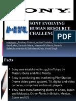 Sony Evolving Human Resource Challenge_1