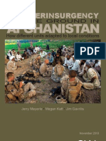 Counterinsurgency on the Ground in Afghanistan