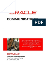 Oracle Communication Strategy