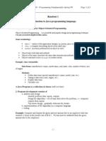 Introduction to Java Programming Language.