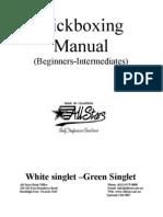 Kick Boxing Manual White to Green.07