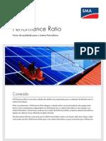Calculo Do Ratio de Um Painel Fotovoltaico
