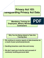 Privacy All Employees
