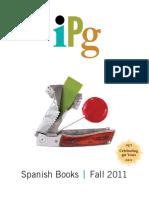 IPG Fall 2011 Spanish Books