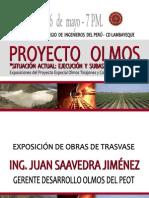 Conferencia Proyecto Olmos