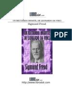 Freud Recuerdo Infantil de Da Vinci