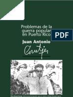 Problemas de la Guerra Popular en Puerto Rico