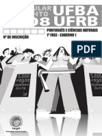 2008 Prova Portugues e Ciencias Naturais - Caderno 1 Fase 1