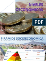 Nivelez Socioeconomicos en El Peru