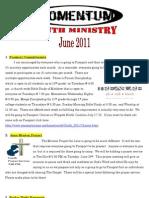 Momentum Newsletter June 2011
