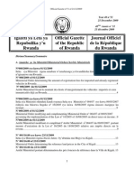 Official Gazette No 51 of 21 December 2009 PDF