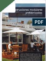 Construcciones modulares prefabricados