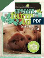Upstate Farm Tour 2011 Brochure